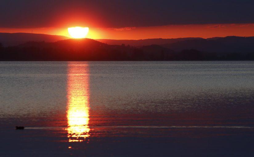 Sunset am Sandseele